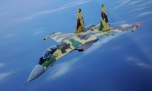 Nga đưa Su-35S đến thử lửa ở Syria