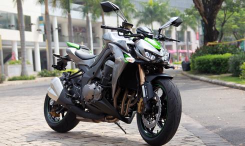 Ngôi sao' Kawasaki Z1000 - môtô ăn khách tại Việt Nam