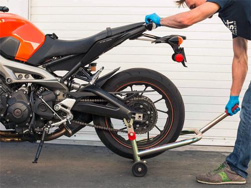 6 bước đơn giản chăm sóc xích xe máy tại nhà 1