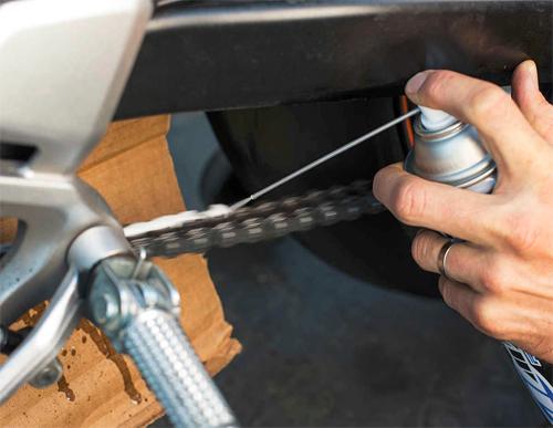 6 bước đơn giản chăm sóc xích xe máy tại nhà 6