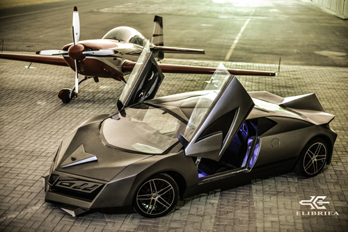 Elibriea Equvallas - siêu xe đầu tiên của Qatar 1