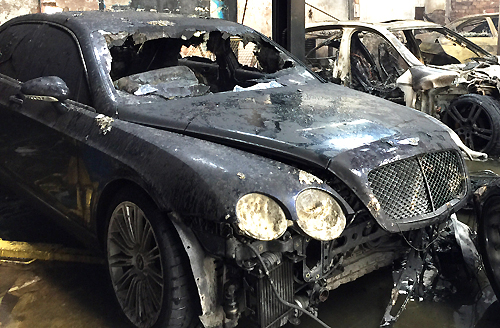 Vì sao lốp xe sang khó cháy? 1
