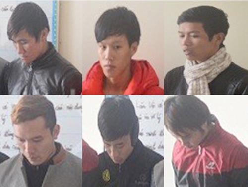 Cảnh sát nổ súng khống chế nhóm thanh niên phê ma túy
