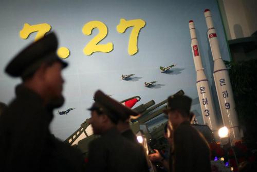 Nghệ thuật ngụy trang tên lửa của Triều Tiên 1