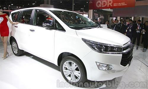 Toyota Innova Crysta thế hệ mới ra mắt tại Ấn Độ 1