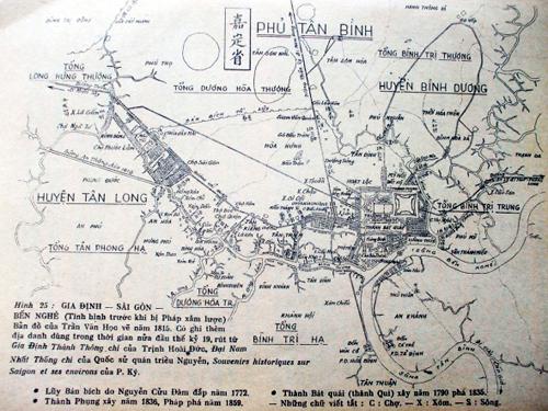 Chuyện về Lũy Bán Bích và người đầu tiên quy hoạch Sài Gòn 1