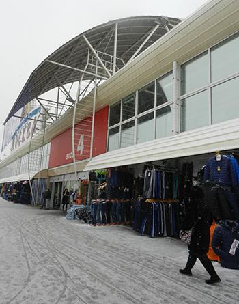 Hàng hóa ế ẩm ở Trung tâm thương mại Mátxcơva (chợ Liu)