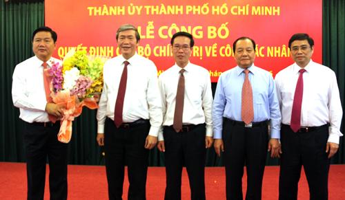 """Bộ trưởng """"nói là làm"""" trở thành Bí thư thành ủy Tp.HCM"""