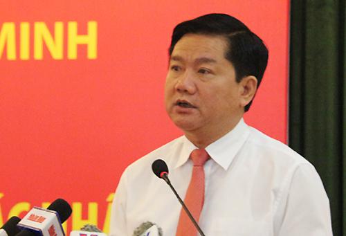 Ông Đinh La Thăng làm Bí thư TP HCM 2