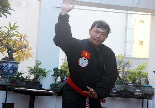 Võ sư hầu quyền ở cố đô Huế
