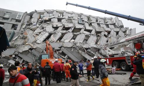 4 người Việt mắc kẹt trong nhà sập do động đất Đài Loan