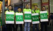 Bỏ rác vào thùng ở đường hoa Nguyễn Huệ được lì xì 10.000 đồng