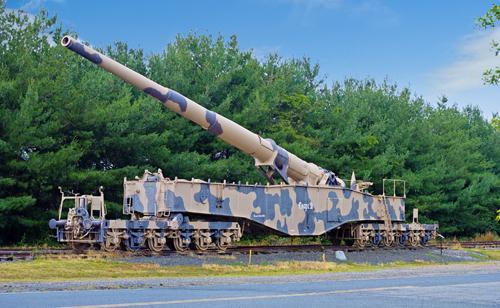 Khẩu siêu pháo lớn nhất thế giới của phát xít Đức 2