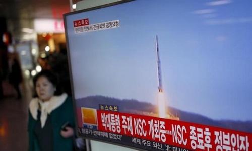 Phóng tên lửa, Triều Tiên mời Mỹ củng cố lá chắn ở châu Á 1