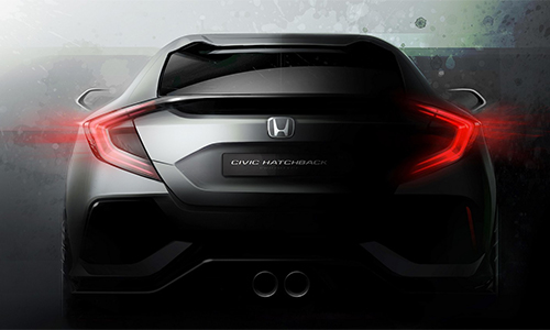 Lộ diện Honda Civic 2016 bản hatchback 1