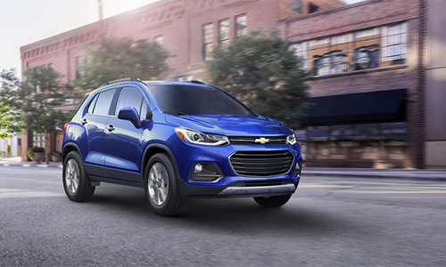 Chevrolet Trax 2017 - đổi diện mạo thêm công nghệ 1