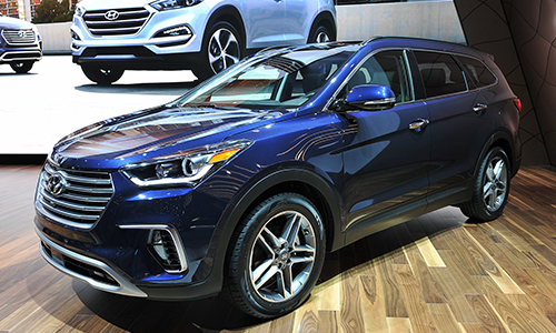 Hyundai Santa Fe 2017 giá từ 25.350 USD tại Mỹ 1