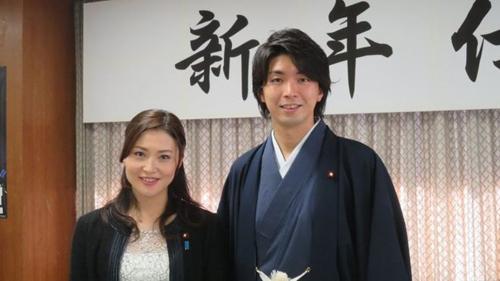Ông Miyazaki và vợKaneko. Ảnh: BBC