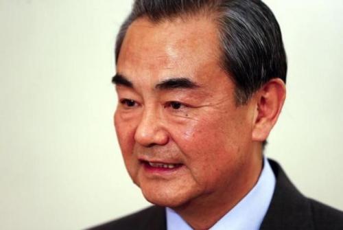 Ngoại trưởng Trung Quốc Vương Nghị trả lời câu hỏi phóng viên hôm 12/2 tại Munich, Đức. Ảnh: Reuters