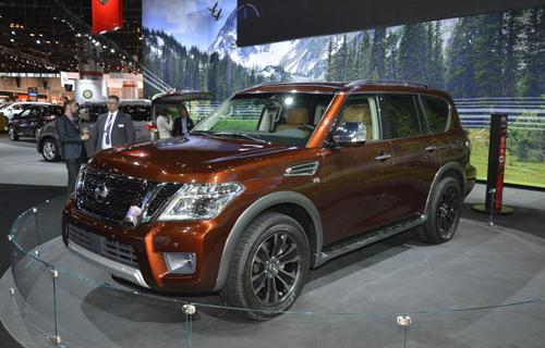 Nissan Armada 2017 - đối thủ Toyota Sequoia ra mắt 1