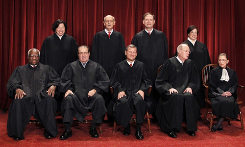 Cuộc chiến quanh chiếc ghế thẩm phán tối cao Mỹ 1