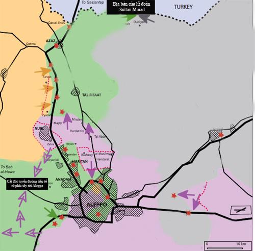 Trận đánh lớn quyết định cục diện chiến trường Syria 2