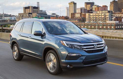 2016 Honda pilot 2 C 6482 1455528370 10 xe SUV an toàn nhất tại Mỹ năm 2016