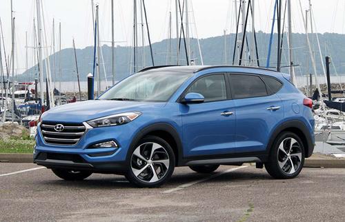 2016 Hyundai Tucson 8877 1455528370 10 xe SUV an toàn nhất tại Mỹ năm 2016