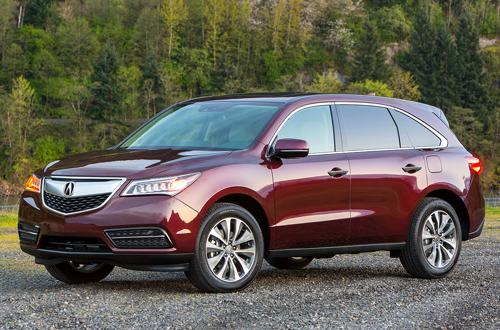 2016 acura mdx pr 1600 f 4931 1455528369 10 xe SUV an toàn nhất tại Mỹ năm 2016