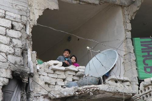 Chiến tranh thế giới trực chờ bùng phát ở chảo lửa Aleppo 1