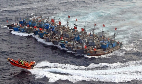 """Hiểm họa từ đội tàu cá """"bóng ma"""" của Trung Quốc 2"""