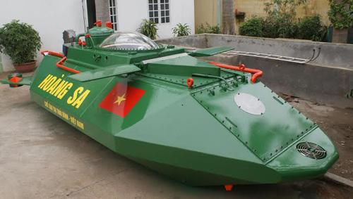 Tàu ngầm Hoàng Sa không được thử nghiệm trên biển 2