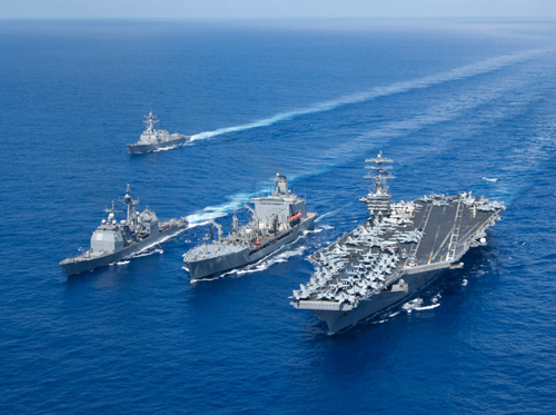 Tên lửa Trung Quốc thổi bùng tranh cãi về số phận tàu sân bay Mỹ 1