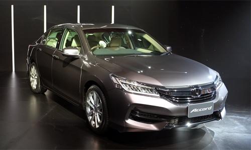 Honda Accord 2016 trình làng Thái Lan giá từ 39.000 USD.
