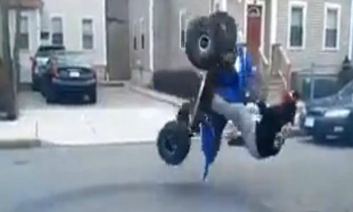 Xe máy drift như xe hơi 1