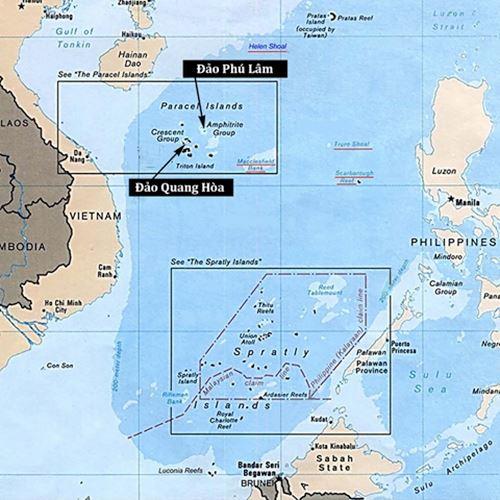 """Tướng Cương: """"Trung Quốc đang xây tổ hợp quân sự ở Biển Đông"""" 2"""