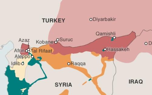 Lý do Thổ Nhĩ Kỳ pháo kích vào lãnh thổ Syria 2