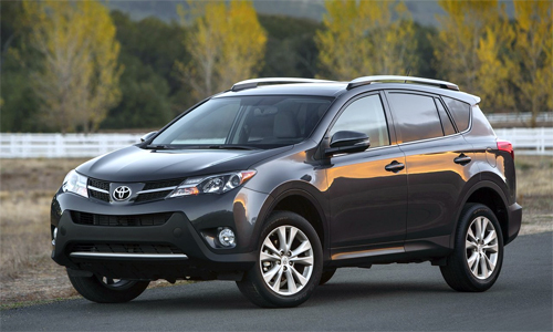 Toyota triệu hồi 2,87 triệu RAV4 trên toàn cầu.
