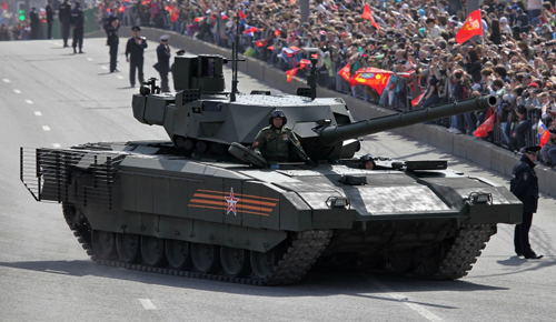 Đức tính chế tạo siêu tăng đối phó T-14 Armata Nga