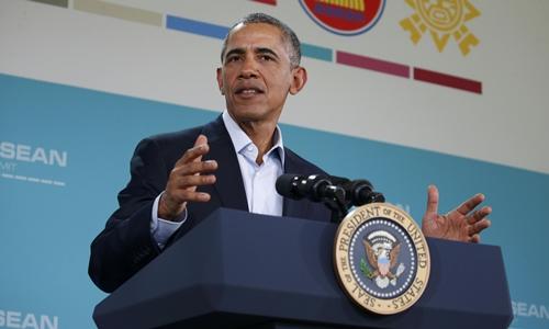 Tổng Thống Obama: Trung Quốc đang dùng luật của kẻ mạnh ở Biển Đông