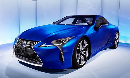Lexus LC 500h - xe thể thao hybrid mới 1