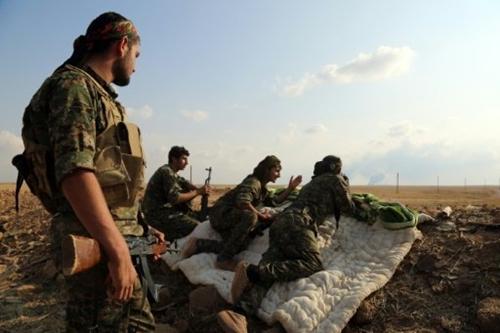 Lực lượng Dân chủ Syria. Ảnh: AFP.