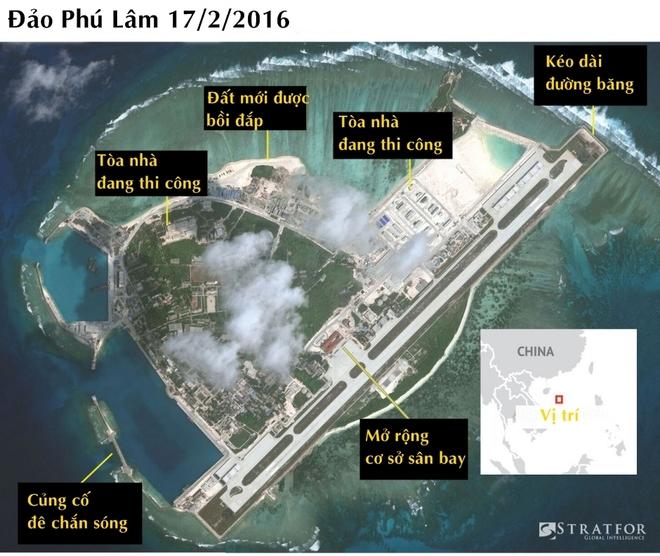 Cơ sở bị nghi là kho chứa vũ khí của Trung Quốc ở Hoàng Sa - ảnh 1