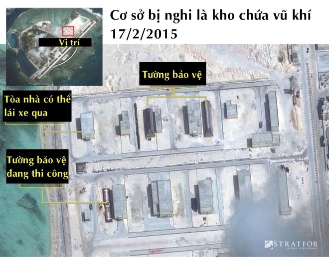 Cơ sở bị nghi là kho chứa vũ khí của Trung Quốc ở Hoàng Sa - ảnh 5