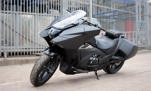 'Siêu xe ga' Honda NM4-02 bản 2016 xuất hiện tại Hà Nội. Ảnh: Lương Dũng.
