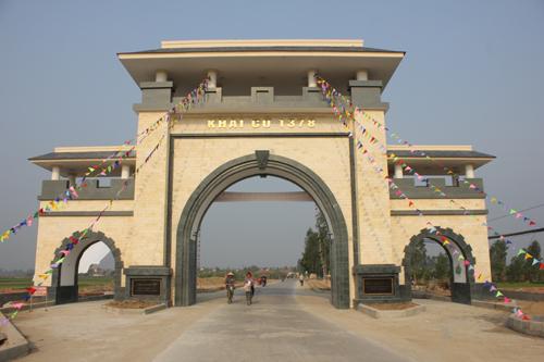 Cổng làng gần 3 tỷ đồng 2