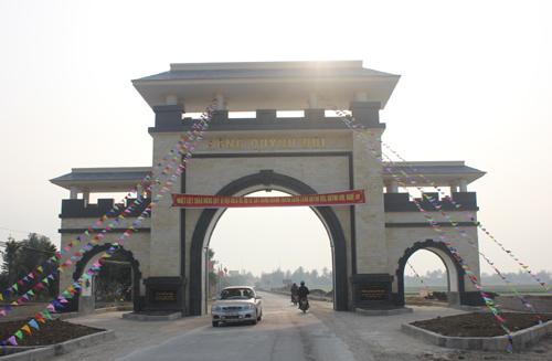 Cổng làng gần 3 tỷ đồng 1