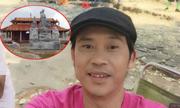 Hoài Linh tươi cười sau tin đồn nhà thờ tổ bị ngừng xây
