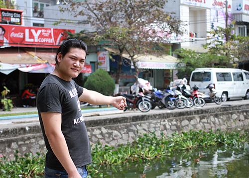 Nhân chứng bác bỏ việc công an Đà Nẵng vận động cứu người nhảy xuống hồ 1