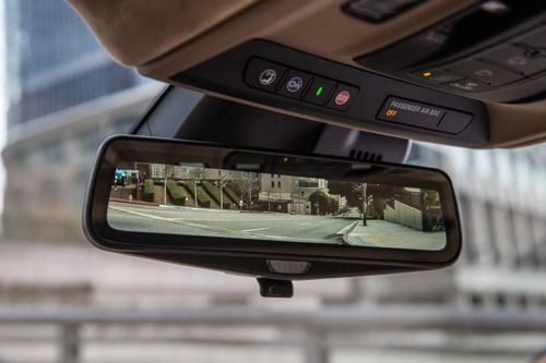 Gương hậu kiểu mới như màn hình camera lùi 1